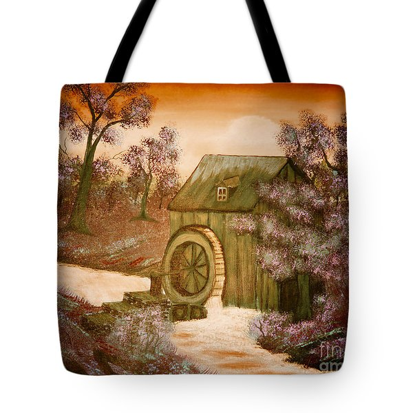 Ross's Watermill Tote Bag by Barbara Griffin