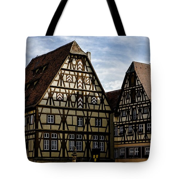 Rothenburg Architecture Tote Bag by Joanna Madloch