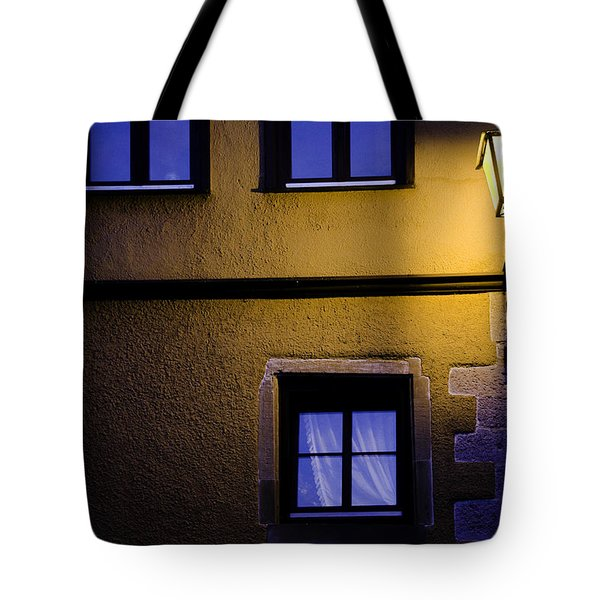 Rothenburg By Night Tote Bag by Joanna Madloch