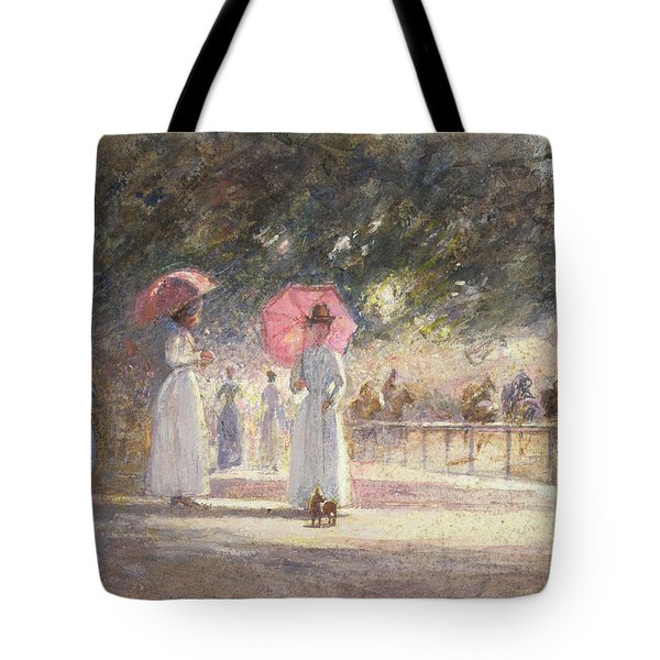 Rotten Row Tote Bag by Harry Fidler