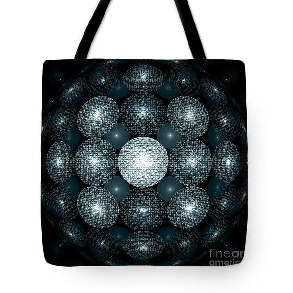 Round And Round Tote Bag by Klara Acel