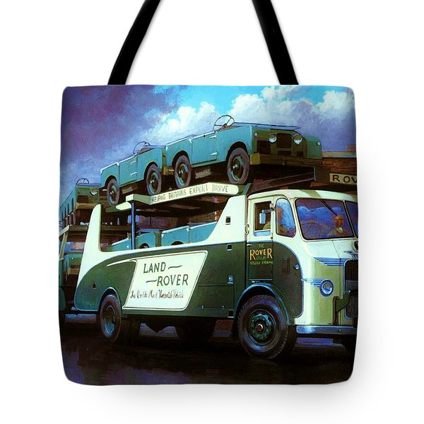 Rovers For Export. Tote Bag by Mike  Jeffries
