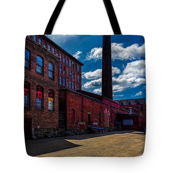 Roy Hill Roy Continental Mill Tote Bag by Bob Orsillo