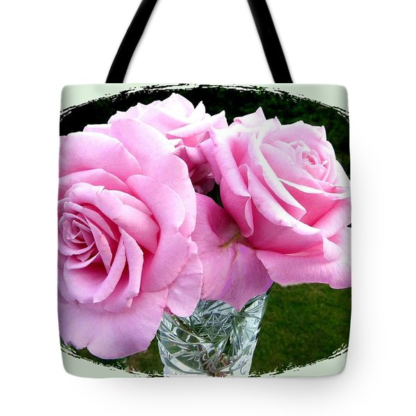 Royal Kate Roses Tote Bag by Will Borden