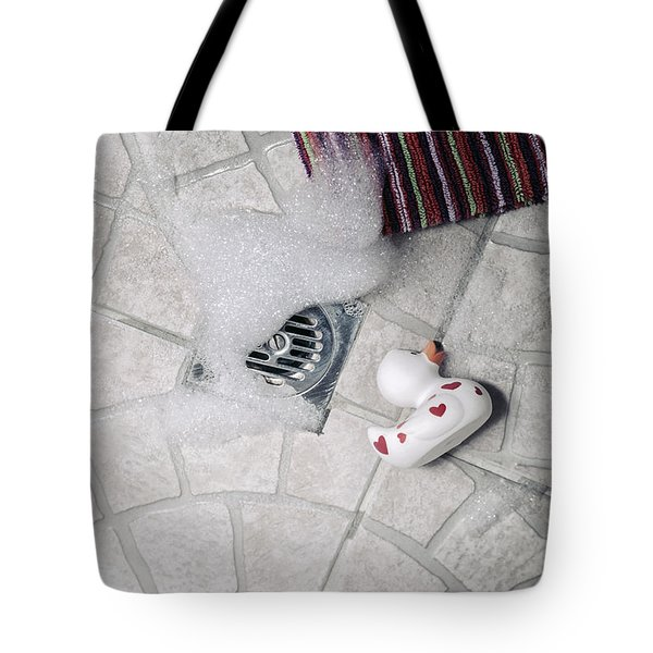 rubber duck Tote Bag by Joana Kruse