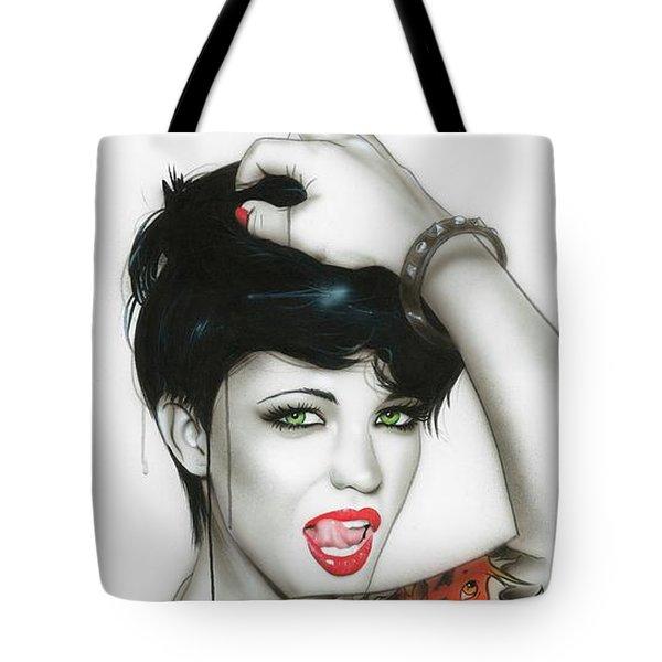 'Ruby' Tote Bag by Christian Chapman Art