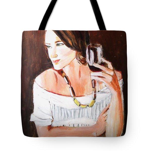 Ruby Tote Bag by Judy Kay