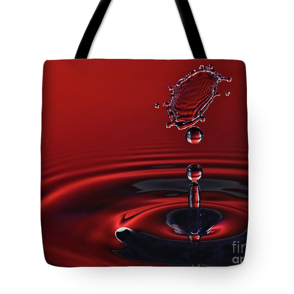 Ruby Red Tote Bag by Susan Candelario