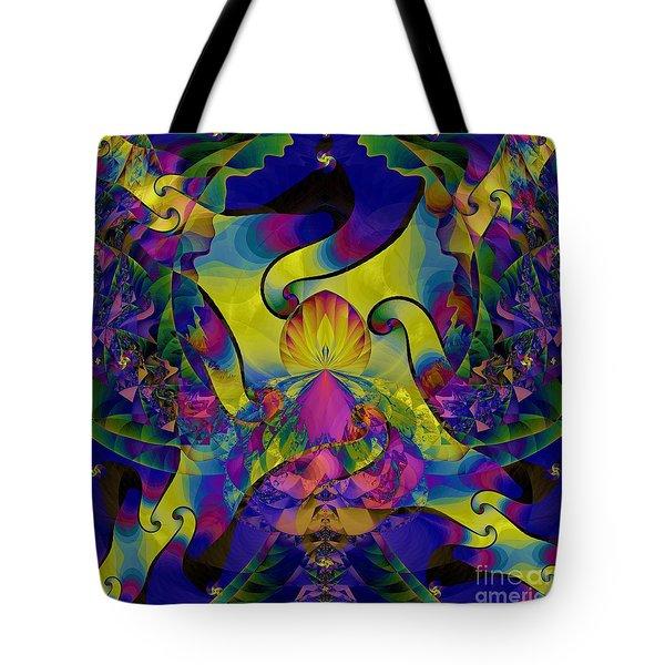 Ruffle Tote Bag by Elizabeth McTaggart