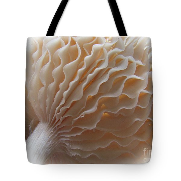 Ruffled And Pretty Or Is It  Pretty Ruffled ?  Tote Bag by Tina M Wenger