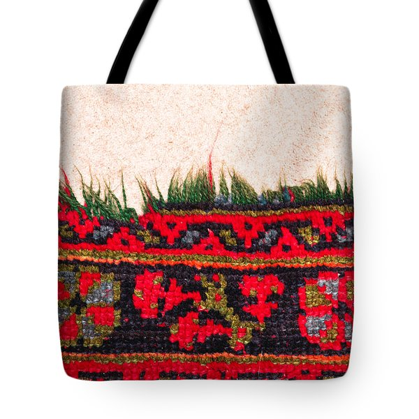 Rug Pattern Tote Bag by Tom Gowanlock