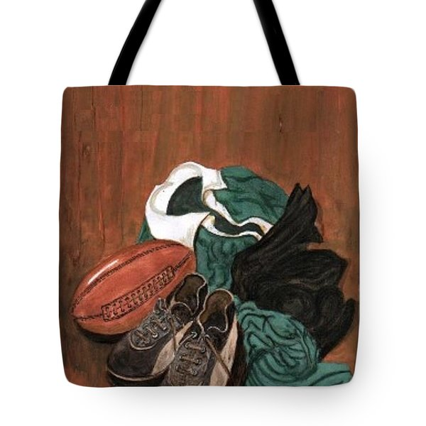 Rugby Tote Bag by Sam Mart