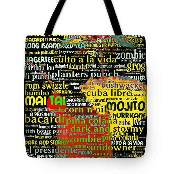 Rum Not Just Your Pirates Drink Anymore 20130627 Tote Bag by Wingsdomain Art and Photography
