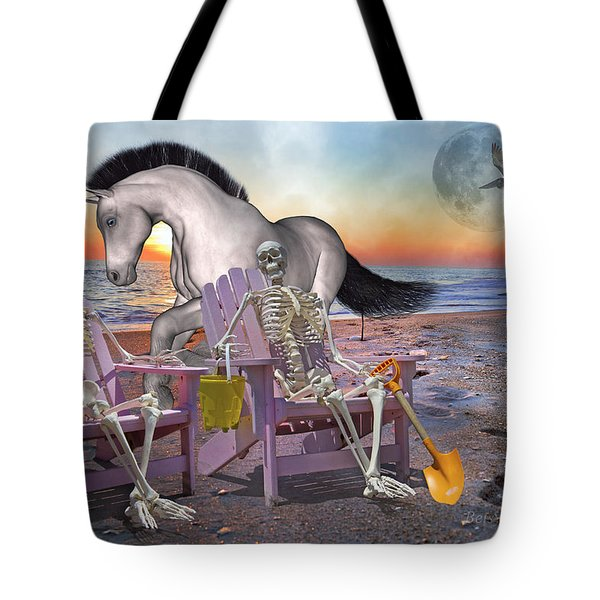 Run with Me Tote Bag by Betsy A  Cutler