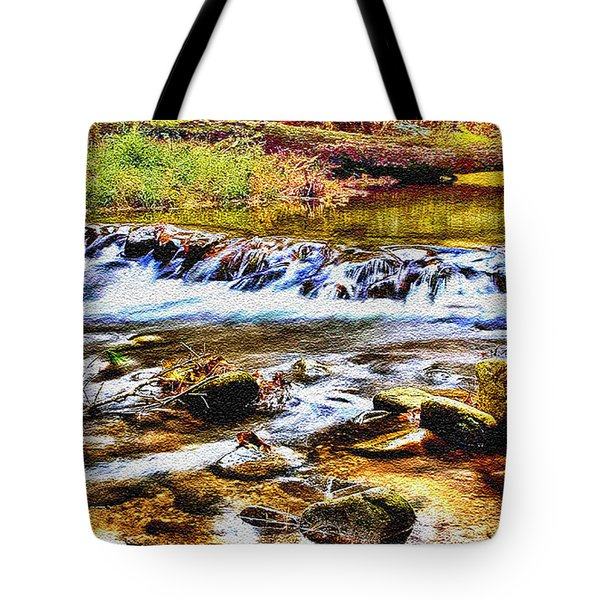 Running Stream In Yosemite National Park Tote Bag by Bob and Nadine Johnston