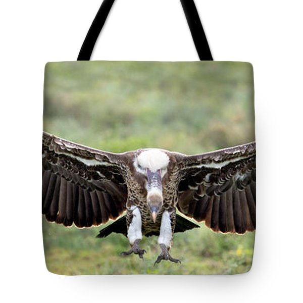 Ruppells Griffon Vulture Gyps Tote Bag by Panoramic Images
