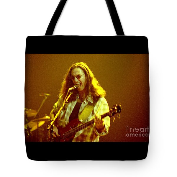 Rush92-geddy-a004 Tote Bag by Timothy Bischoff