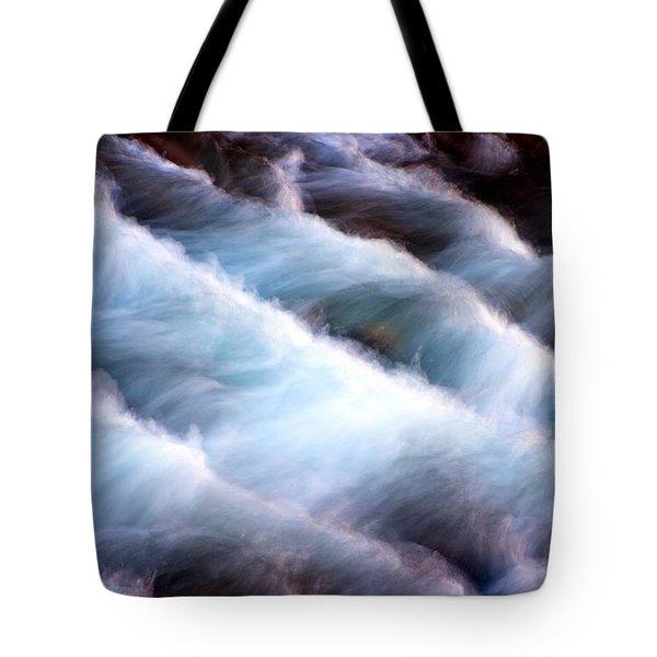 Rushing Tote Bag by Adam Romanowicz