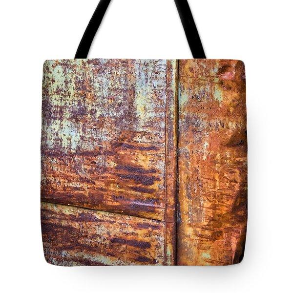 Rust Rules Tote Bag by Steve Harrington