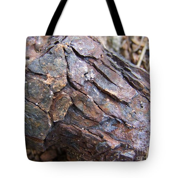 Rusted Rust Tote Bag by Mary Deal