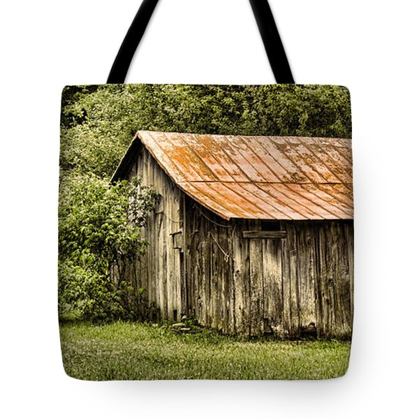 Rustic Tote Bag by Heather Applegate