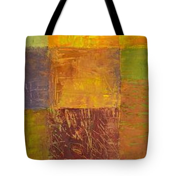 Rustic Layers 2.0 Tote Bag by Michelle Calkins
