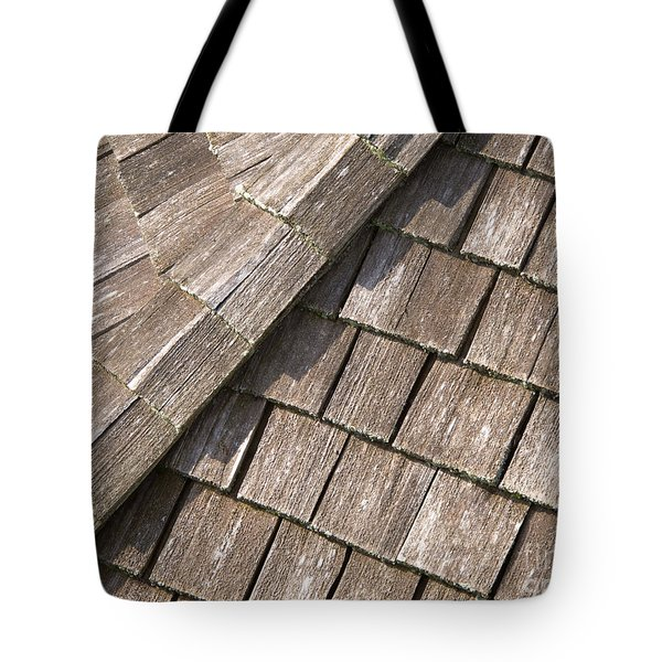 Rustic Rooftop Tote Bag by Ann Horn