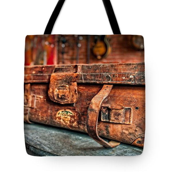 Rustic Trunk Tote Bag by Brett Engle