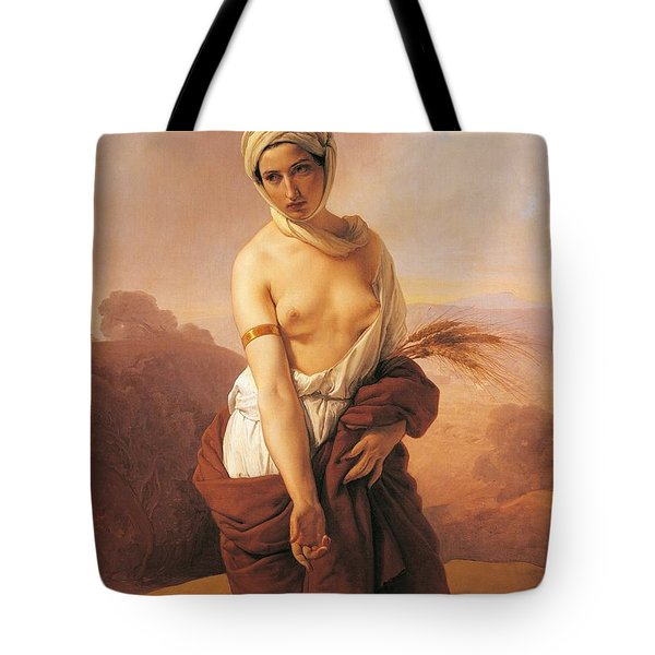 Ruth Tote Bag by Francesco Hayez