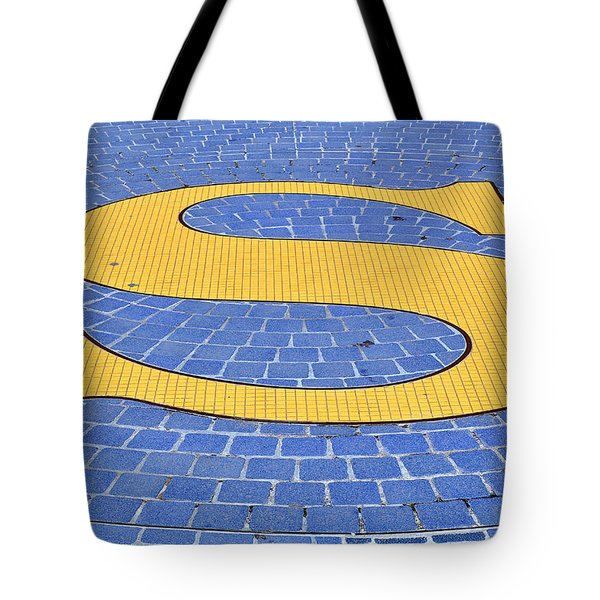 S Is For ...... Tote Bag by Roger Reeves  and Terrie Heslop