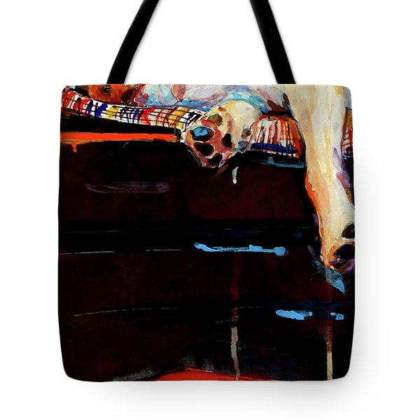 Sacked Tote Bag by Molly Poole