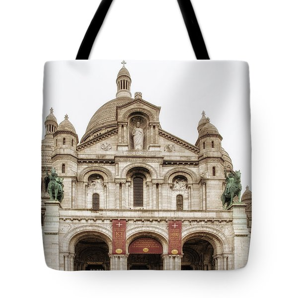 Sacre Coeur  Tote Bag by Nomad Art And  Design