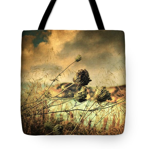 Sad Song of the Wind Tote Bag by Taylan Soyturk
