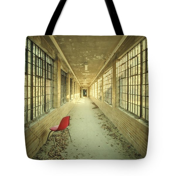 Sadly Acknowledged Tote Bag by Evelina Kremsdorf