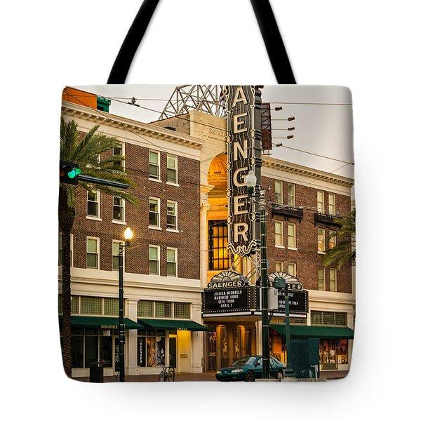 Saenger Theatre New Orleans Tote Bag by Steve Harrington