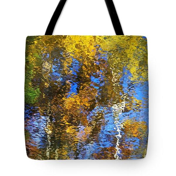 Safari Mosaic Abstract Art Tote Bag by Christina Rollo