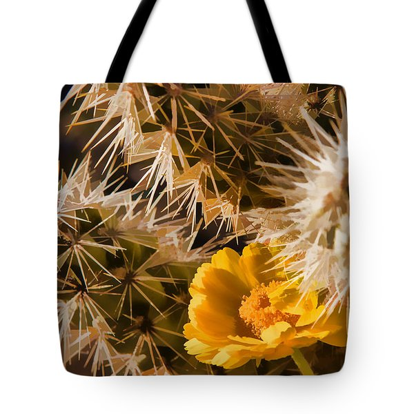 Safe Here Tote Bag by Scott Campbell