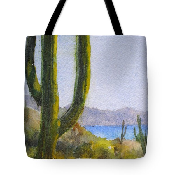 Saguaro Tote Bag by Mohamed Hirji