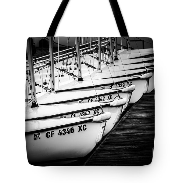Sailboats in Newport Beach California Picture Tote Bag by Paul Velgos