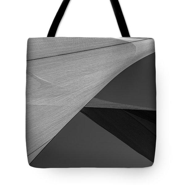 Sailcloth Abstract Number 9 Tote Bag by Bob Orsillo