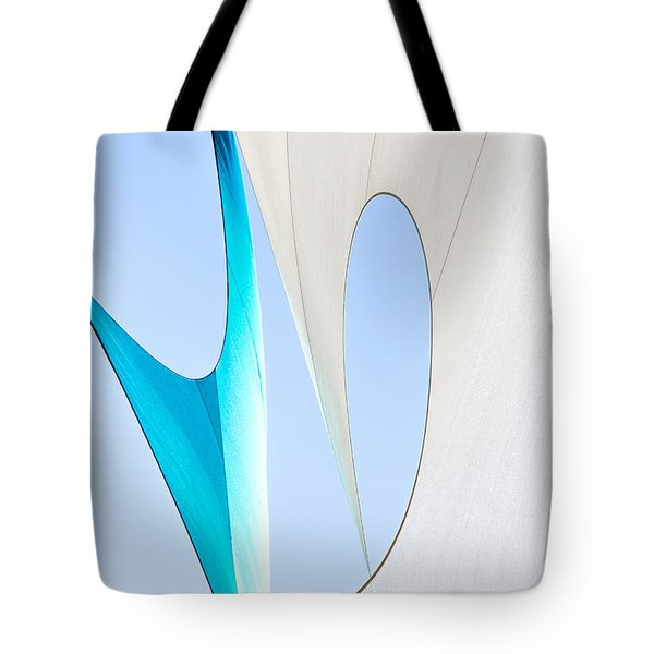 Sailcloth Abstract Number Twenty Tote Bag by Bob Orsillo