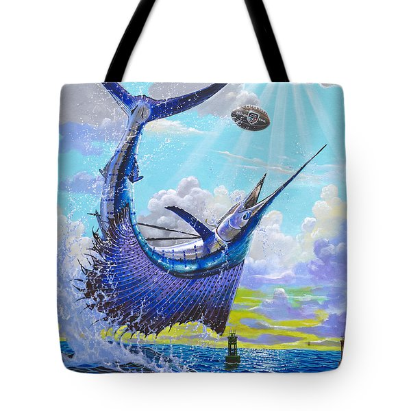 Sailfish Football Off0030 Tote Bag by Carey Chen
