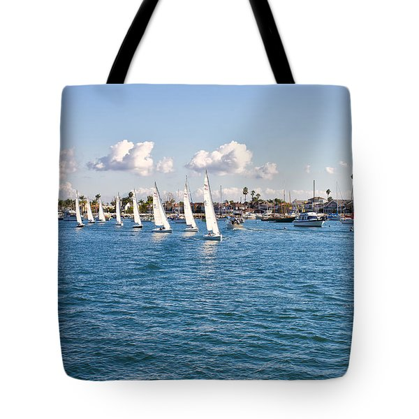 Sailing Tote Bag by Angela A Stanton