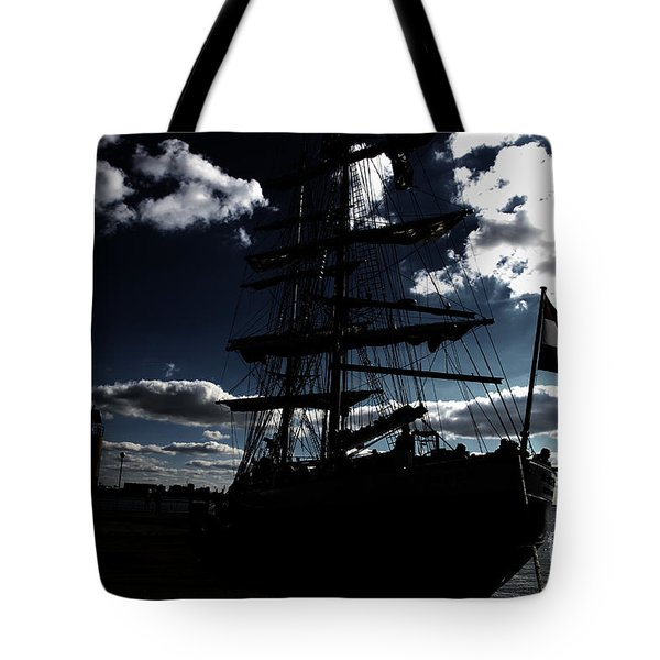 Sailing By Night Tote Bag by Four Hands Art