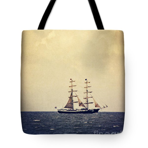Sailing II Tote Bag by Angela Doelling AD DESIGN Photo and PhotoArt
