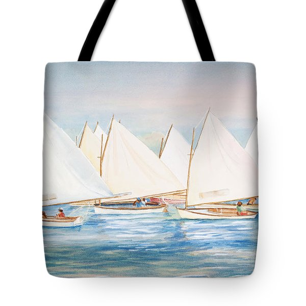 Sailing In The Summertime II Tote Bag by Michelle Wiarda