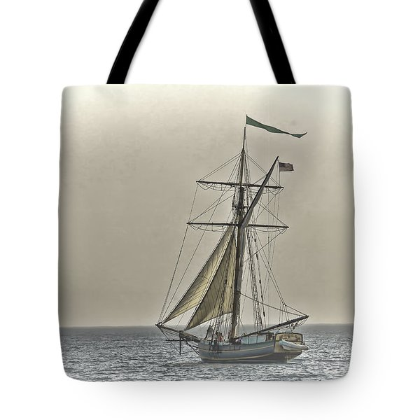 Sailing Off Tote Bag by Jack R Perry