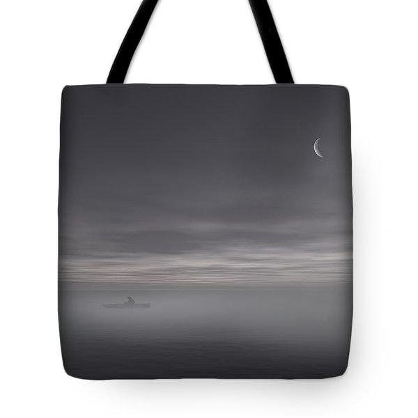 Sailing Solitude Tote Bag by Lourry Legarde