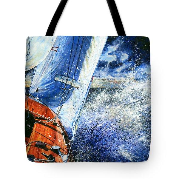 Sailing Souls Tote Bag by Hanne Lore Koehler