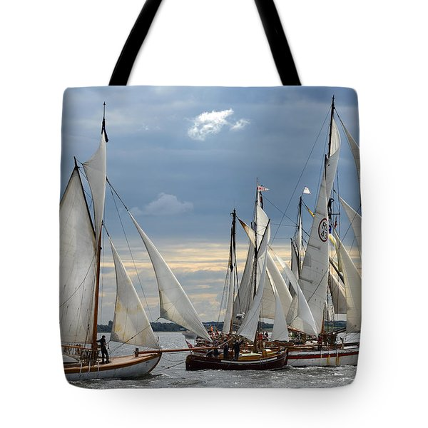 Sailing the Limfjord Tote Bag by Robert Lacy